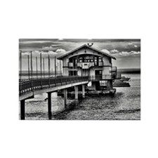 Boathouse 6 Rectangle Magnet