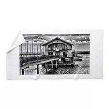 Boathouse 6 Beach Towel
