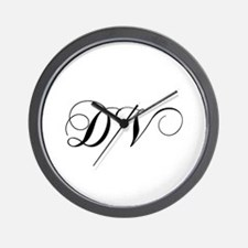 DV-cho black Wall Clock
