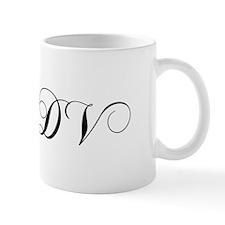 DV-cho black Mugs