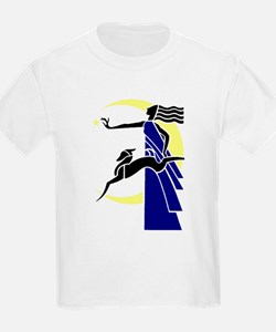 Diana or Artemis, Goddess of the Moon T-Shirt