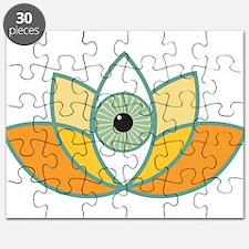 shamanistic 3rd eye lotus Puzzle