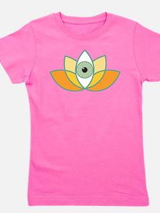 shamanistic 3rd eye lotus Girl's Tee