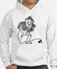 Cowardly Lion from the Wizard of Hoodie