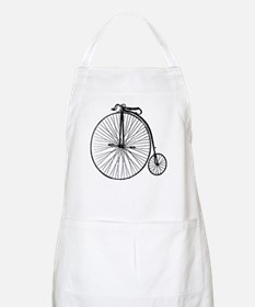 Antique Penny Farthing Bicycle Apron