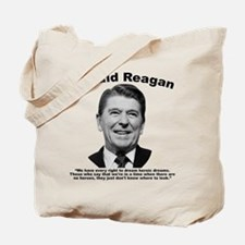 Reagan: Dream Tote Bag