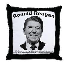 Reagan: Dream Throw Pillow