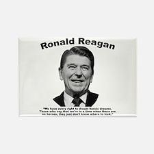 Reagan: Dream Rectangle Magnet