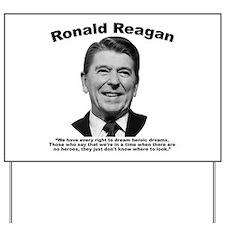 Reagan: Dream Yard Sign