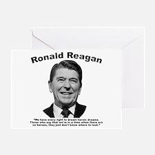 Reagan: Dream Greeting Card