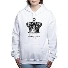 Anne Boleyn Crown and Si Women's Hooded Sweatshirt