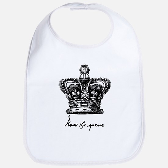 Anne Boleyn Crown and Signature Bib