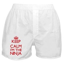 Keep calm I'm the Ninja Boxer Shorts