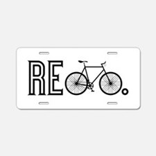 Re Bicycle Aluminum License Plate