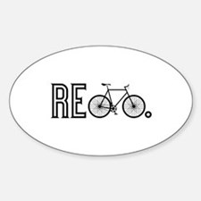 Re Bicycle Decal