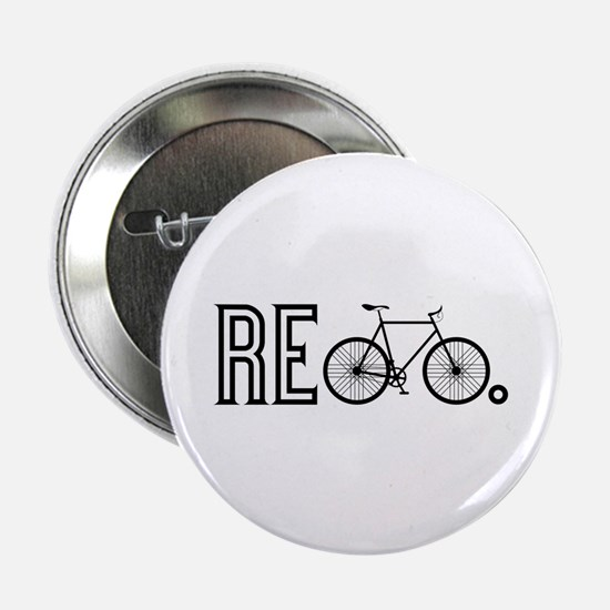 """Re Bicycle 2.25"""" Button (10 pack)"""