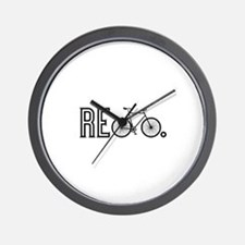 Re Bicycle Wall Clock