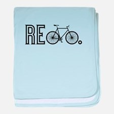 Re Bicycle baby blanket