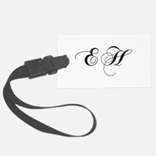 EH-cho black Luggage Tag