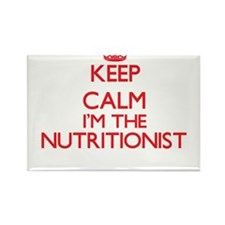 Keep calm I'm the Nutritionist Magnets