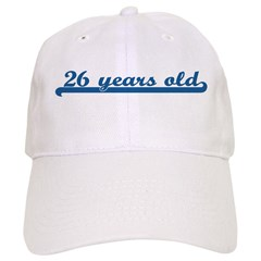 26 years old (sport-blue) Cap