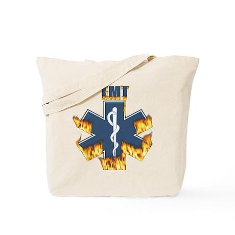 Burning EMT Gifts Tote Bag