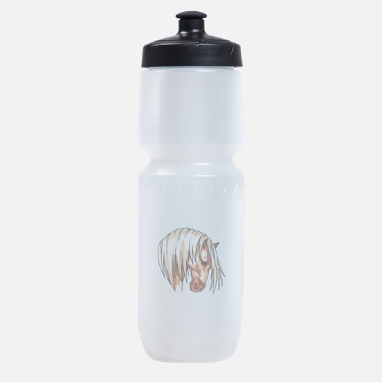 HORSE HEAD LARGER Sports Bottle