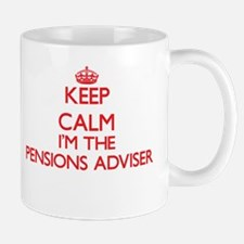 Keep calm I'm the Pensions Adviser Mugs