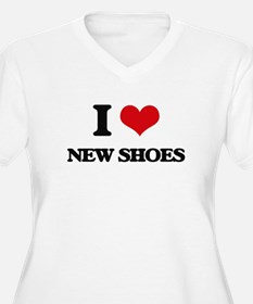 new shoes Plus Size T-Shirt