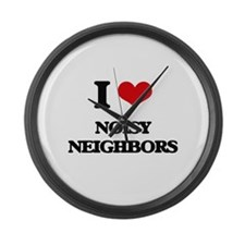 noisy neighbors Large Wall Clock