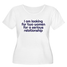 serious relationship Plus Size T-Shirt