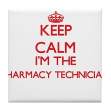 Keep calm I'm the Pharmacy Technician Tile Coaster