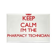 Keep calm I'm the Pharmacy Technician Magnets