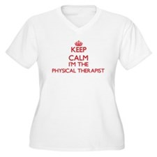 Keep calm I'm the Physical Thera Plus Size T-Shirt