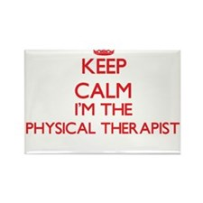 Keep calm I'm the Physical Therapist Magnets