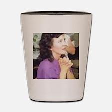 Unique Our lady medjugorje Shot Glass