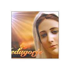 "Madonna Square Sticker 3"" x 3"""