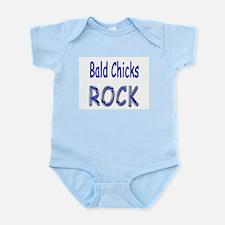Bald Chicks Rock Infant Bodysuit