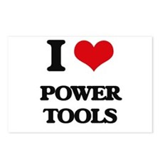 power tools Postcards (Package of 8)