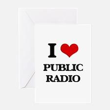 public radio Greeting Cards