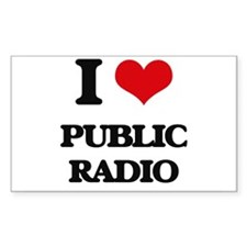 public radio Decal