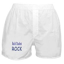 Bald Dudes Rock Boxer Shorts