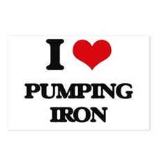 pumping iron Postcards (Package of 8)