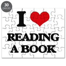 reading a book Puzzle