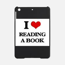 reading a book iPad Mini Case