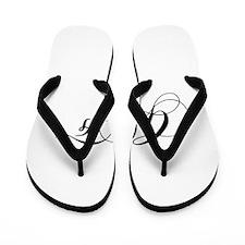 GF-cho black Flip Flops