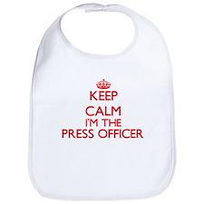 Keep calm I'm the Press Officer Bib