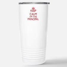 Keep calm I'm the Princ Stainless Steel Travel Mug