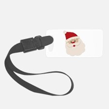 Santa Face Luggage Tag