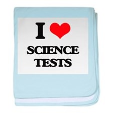 science tests baby blanket